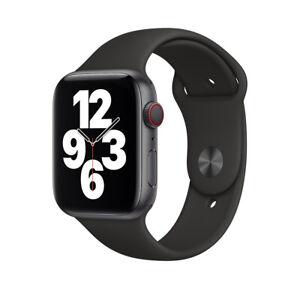  Genuine Apple Watch Band Strap BLACK 38/40mm 42/44mm - Series 1-6 + SE RRP £49