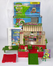 1995 TMNT Turtles Mini Mutant Playset Pizza Wars - 100% complete and boxed