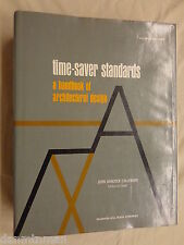 Time-Saver Standards : A Handbook of Architectural Design (1966, Hardback)