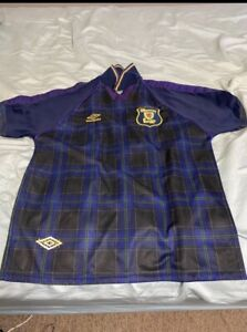 1996 Euro Championship Scotland Soccer/Football Jersey