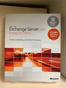 Microsoft Exchange Server 2007 Enterprise Edition Includes Service Pack 1