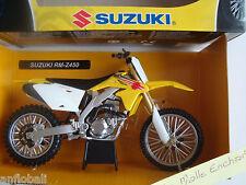 MOTO MINIATURE SUZUKICROSS RM Z 450  1/12 NEUVE EN BOITE NEW RAY