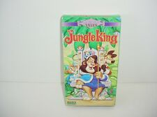 The Jungle King Enchanted Tells Sony VHS Video Movie