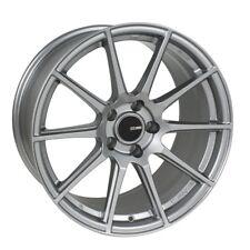17x8 Enkei TS10 4x100 +40 Storm Grey Rims Fits Civic Ef Ek Eg Miata Mr2