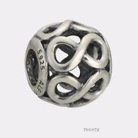 NEW AUTHENTIC Pandora 925 Silver Infinite Shine Bracelet Charm 791872