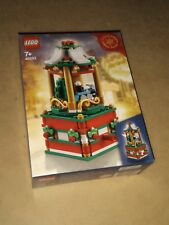 LEGO 40293 CHRISTMAS CAROUSEL LIMITED EDITION - CAROSELLO NATALIZIO, NUOVO, DISP