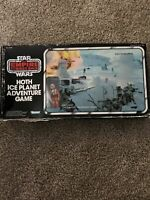 Star Wars Kenner Vintage Retro Hoth Ice Planet game Luke Skywalker As pictured