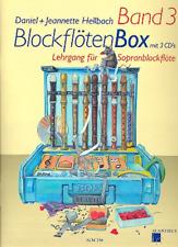 Blockflötenbox Band 3 (+3 CD's) - Lehrgang für Sopranblockflöte +1 Bleistift