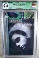 Death The High Cost of Living #1 SIGNED DC Vertigo 1993 CGC 9.6 NM+ Comic K0049