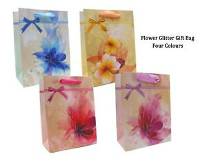 Flower Gift Bags, Luxury Gift Bag (6 Pack) - Party, Birthdays & Celebrations