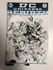 DC Universe: Rebirth (2016) #1 (NM) Ivan Reis Sketch Variant (1:100)