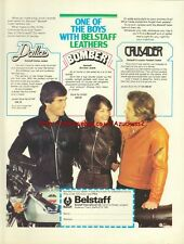 Belstaff Clothing Motorcycle 1977 Magazine Advert #409