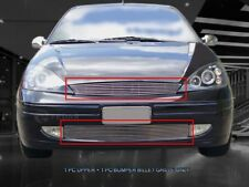Fits 2000-2004 Ford Focus Billet Grille Grille Grill Combo
