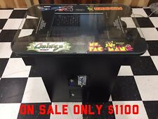 New Multicade Cocktail Arcade Machine with 60 Games