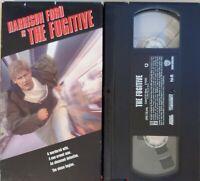 📼THE FUGITIVE (VHS 1993) Harrison Ford Tommy Lee Jones Action Thriller