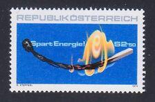 "Austria 1979 MNH Mi 1622 Sc 1134 "" Save Energy "" Match"
