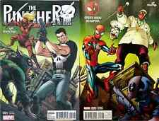 SPIDERMAN DEADPOOL 5 PUNISHER 1 HASTINGS CONNECTING VARIANT SET AMAZING MOVIE