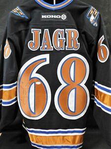 Jaromir Jagr Washington Capitals Signed Authentic Kono Jersey JSA Authenticated