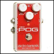 "Electro-Harmonix Nano POG Polyphonic Octave Generator Effects Pedal ""AU Power"""