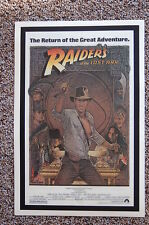 Raiders of the Lost Ark Lobby Card Movie Poster Harrison Ford