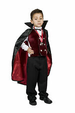 Vampire Costume Boys kids Child Gothic/Dracula Vampire Size S M 4,5,6,7,8
