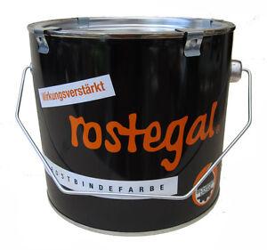 (19,96 EUR/Liter) Rostbindefarbe ROSTEGAL 2500 ml Rostschutz