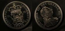1808 Great Britain Large Nickel Fantasy Crown Pattern England Shield/George III