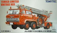 NEW JAPAN TOMICA LIMITED VINTAGE HINO TC343 TYPE FIRE TRUCK RARE TOY CAR