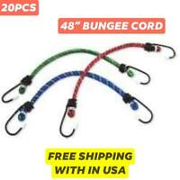 """Neiko 10PC 31/"""" Round End EPDM Rubber Tie Down Hook Strap Cord Bungee"""
