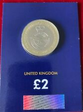 £2 Two Pound RAF 100 Centenary Badge Brilliant Uncirculated Coin BUNC 2018