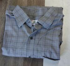 LACOSTE Herren Hemd Langarm Business Freizeit Klassische Hemd Gr.45 Grau T212