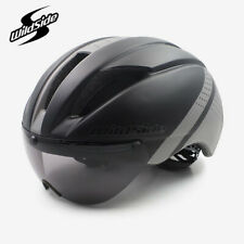 Aero Helmet tt time Trial Cycling For Men Women Goggles With Lens Casco Ciclismo