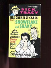 DICK TRACY- His Greatest Cases No. 2- Snowflake & Shaky 1975, 1st  US SB good