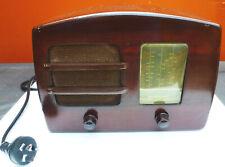 Vintage Australian radio, rare 'Operatic' Model 36MA, timber case, 1947.