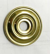 Baldwin 5048 brass rosette