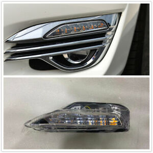 Left Driver Front Turn Signal Light Lamp For 2015-19 INFINITI Q70L AA Clear
