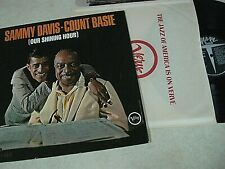SAMMY DAVIS Count Basie OUR SHINING HOUR Verve LP CLEAN Vinyl Jazz Rarity STEREO