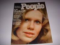 Vintage PEOPLE Magazine, January 27, 1975, LIV ULLMANN Cover, GORE VIDAL!