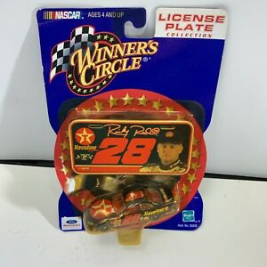 Winner's Circle Stock Car Nascar Ricky Rudd #28 License Plate Collection Sealed