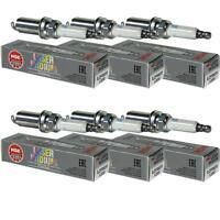 6X NGK Laser Iridium Premium Zündkerze 1208 Typ ILZFR6D11 Zünd Kerze