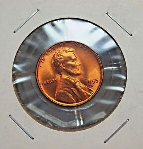 1955-D VERY NICE UNCIRCULATED UNITED STATES LINCOLN WHEAT CENT......13655