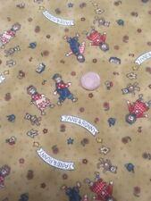 Fun Garden Scarecrow Design 100% Craft Cotton Company Quilting Fabric