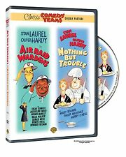 Laurel & Hardy : Air Raid Wardens & Nothing But Trouble - DVD - UK Compatible