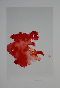 Armando - Komposition in Rot - Giclee - handsigniert