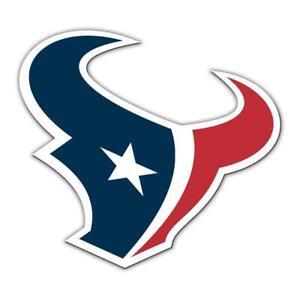 Houston Texans 12 Inch Vinyl Car Magnet [NEW] NFL Auto Truck Emblem Decal