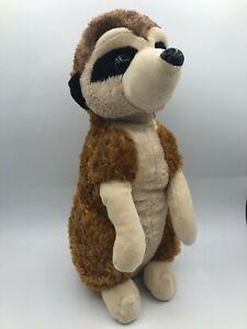 Wild Republic Cuddlekins 2015 Meerkat Plush Soft Kids Stuffed Toy Zoo Animal
