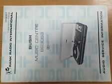 Vintage Manual BUSH BS3053