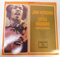 Jimi Hendrix & Little Richard Unused LP Slick - Everest Records RARE