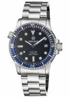 DIVER 1000 AUTOMATIC DIVER DARK BLUE/LIGHT BLUE BEZEL - BLACK DIAL BRACELET