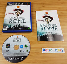 PS2 Great Battles Of Rome PAL